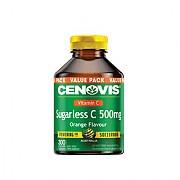 세노비스 비타민C (슈가리스,오렌지맛) 500mg 300정