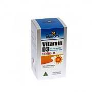 블로섬 비타민D3 1000 IU 250캡슐